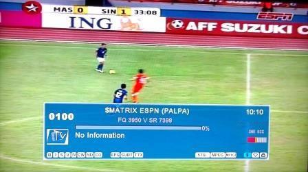 K Satheesh Sat English Matrix Star Sports Espn Fta Mode Palapa D 113 0e