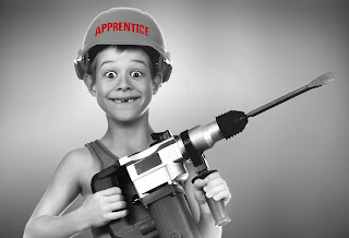 Junior Apprentice With Drill