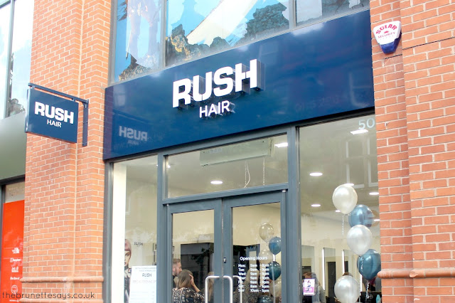 leicester, hair, hair salon, rush hair