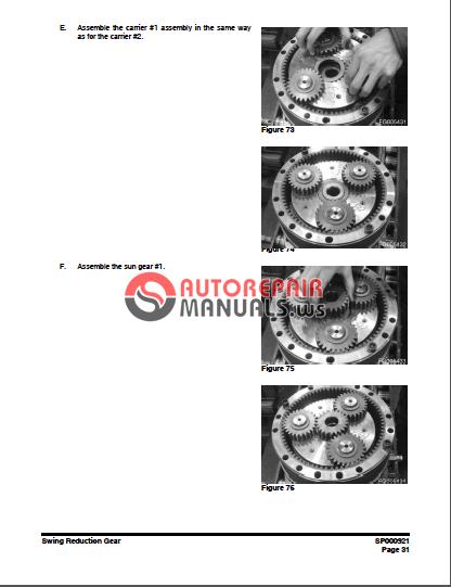 Free Auto Repair Manual : DOOSAN CRAWLER EXCAVATOR DX140LC