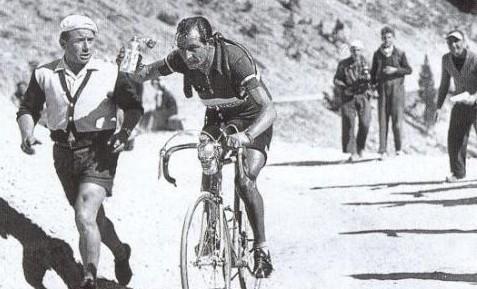 e93aa6098 Killing Monte Zoncolan  Cyclist card  3 Gino Bartali