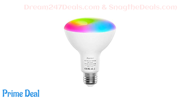 50%off Smart Light Bulb BR30 Dimmable 1 pack