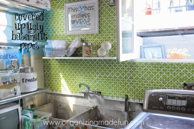 Laundry Room of Organizing Made Fun's home tour