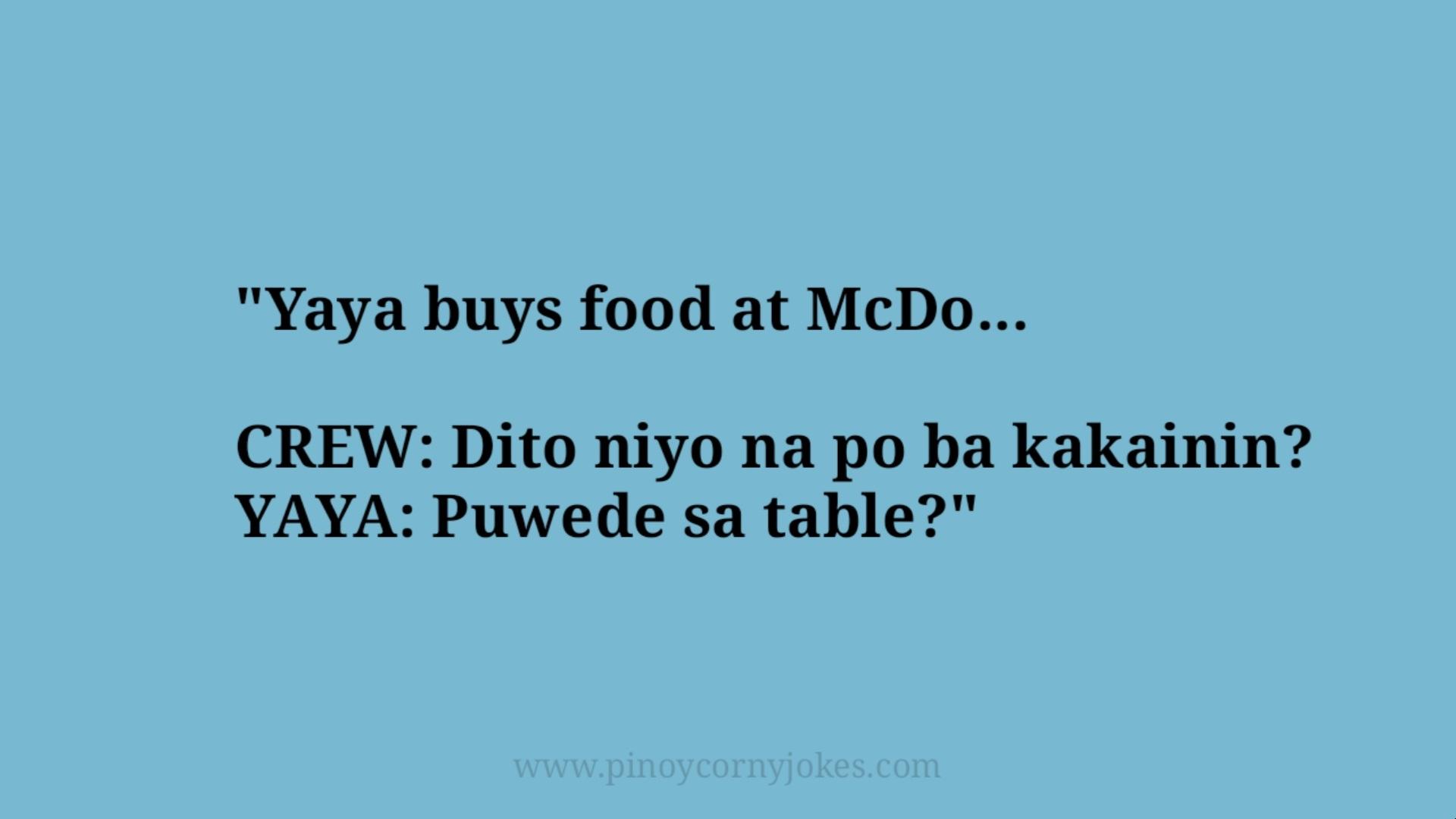 mcdo best inday pinoy jokes 2021