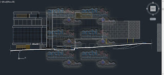 download-autocad-cad-dwg-file-Convention-center-facades