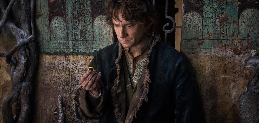 Bilbo Baggins în Hobbitul: Bătălia Celor Cinci Oştiri