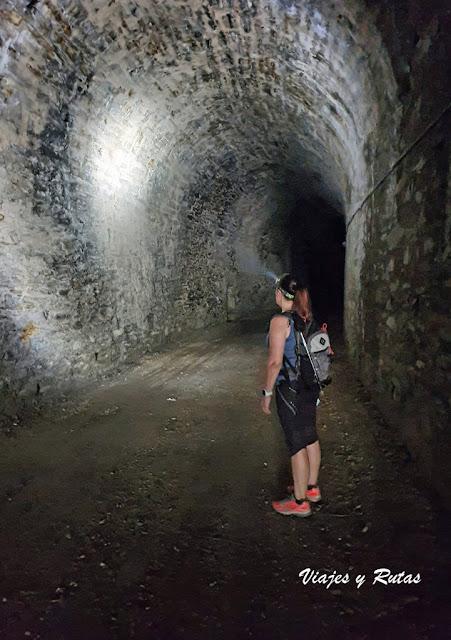 Túnel de Carriceiro, Vía verde del ferrocarril