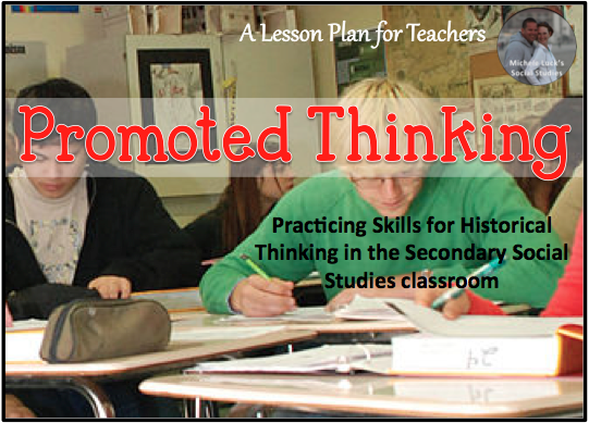 Tips for practicing skills for historical thinking in the secondary social studies classroom