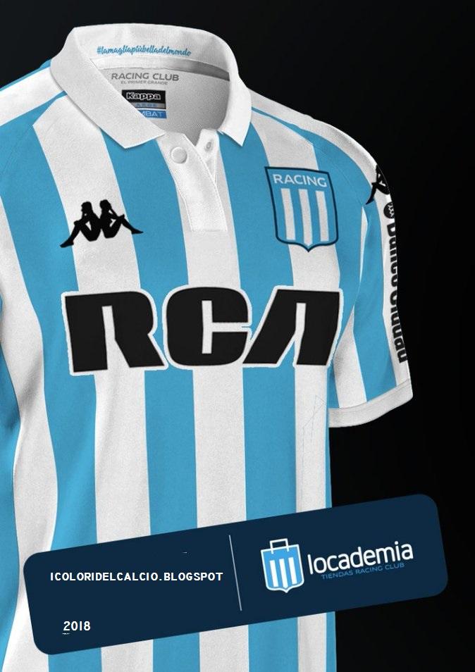 Il prossimo martedì 27 inizierà la partecipazione del Racing in una nuova  edizione della Copa Libertadores. La nuova maglia Kappa sarà lanciata nella  ... f0eb69bad9688