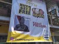 Penjualan Sepi di Masa PPKM, Warung Ramen di Garut ini Malah Berani Bikin Promo yang Tak Berlaku untuk Presiden