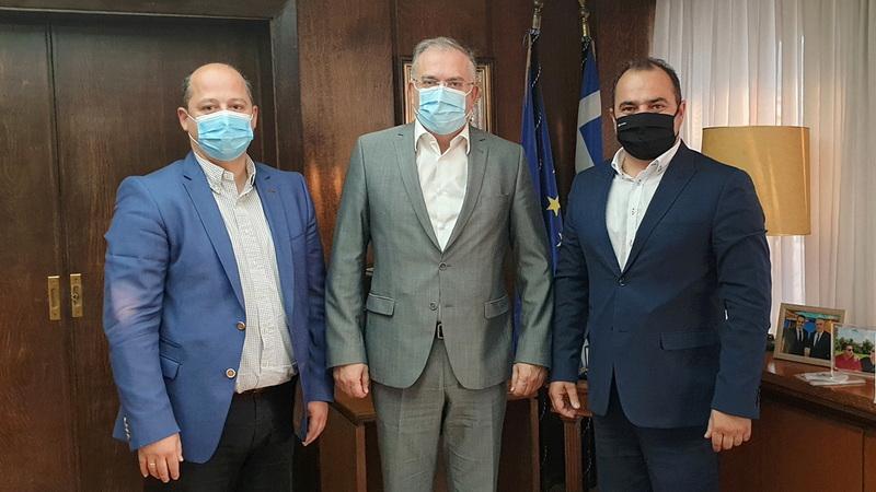 Μπαράζ συναντήσεων του Δημάρχου Διδυμοτείχου Ρωμύλου Χατζηγιάννογλου