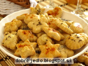 Slané syrové pečivo - recept