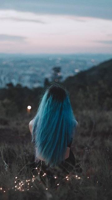 Alone Girl Download Wallpaper For WhatsApp