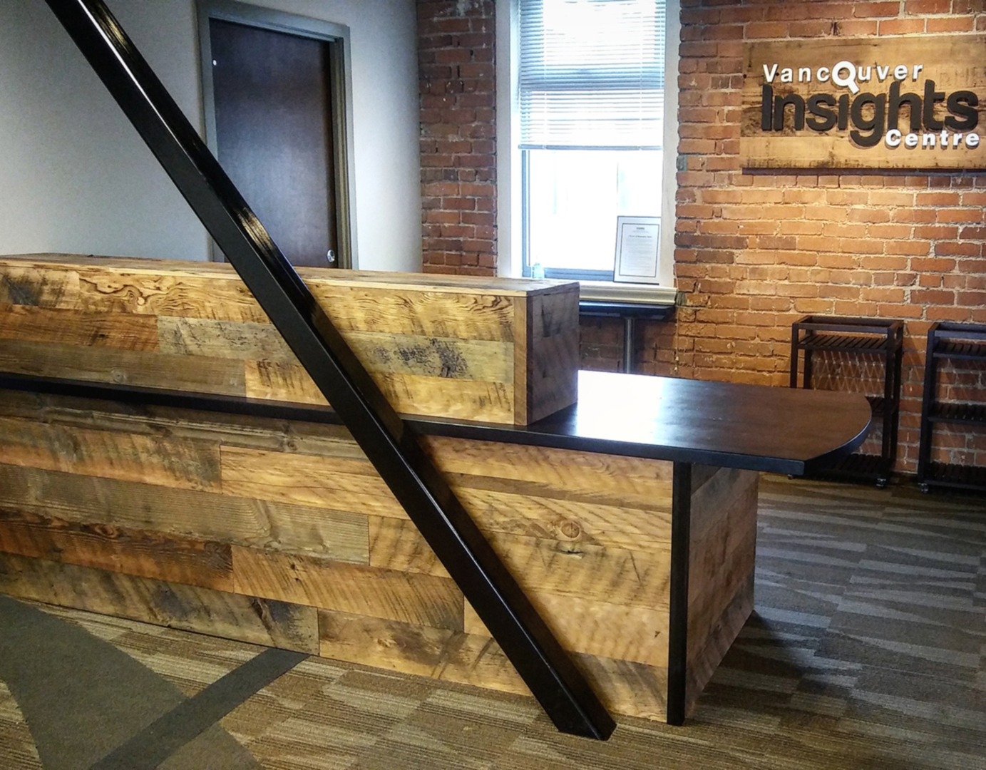 Custom Reclaimed Wood Furniture Vancouver Vancouver