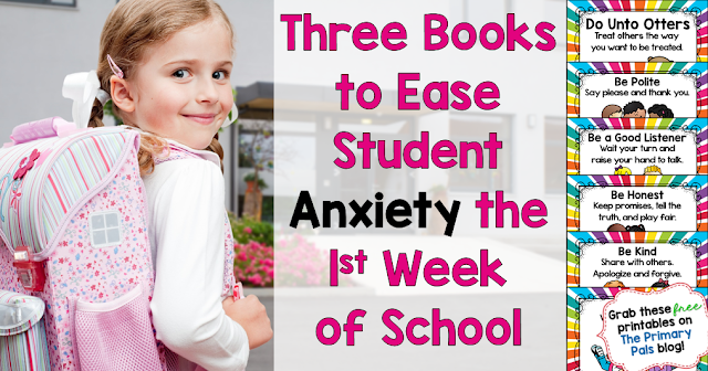 The first week of school can be tough for a lot students, especially kindergartners or first graders. Kids may be worried about making new friends or meeting a new teacher. They could also be nervous about entering a new grade level. Whatever the source of their anxiety, taking the time to validate their feelings will help your students feel at ease. These books are great for the first week of school because they address common feelings that your students may be having.