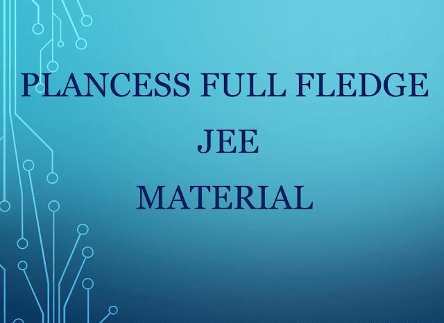Plancess Full Fledge JEE Material : for JEE Exam PDF Book