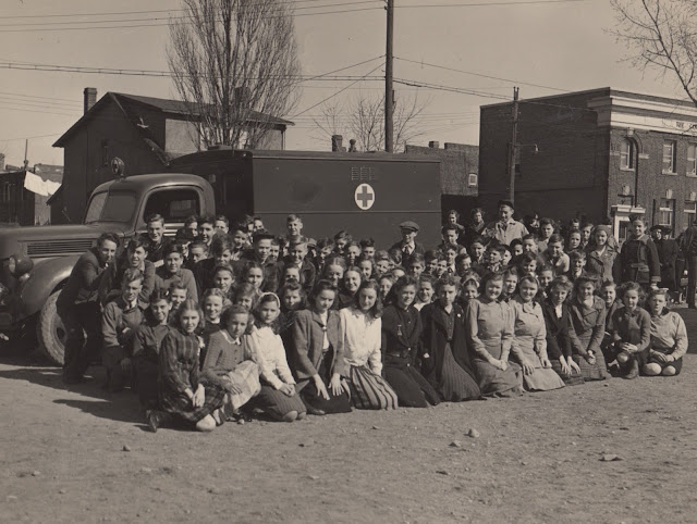 10 April 1941 worldwartwo.filminspector.com War Ambulance Birch Cliff Public Schools