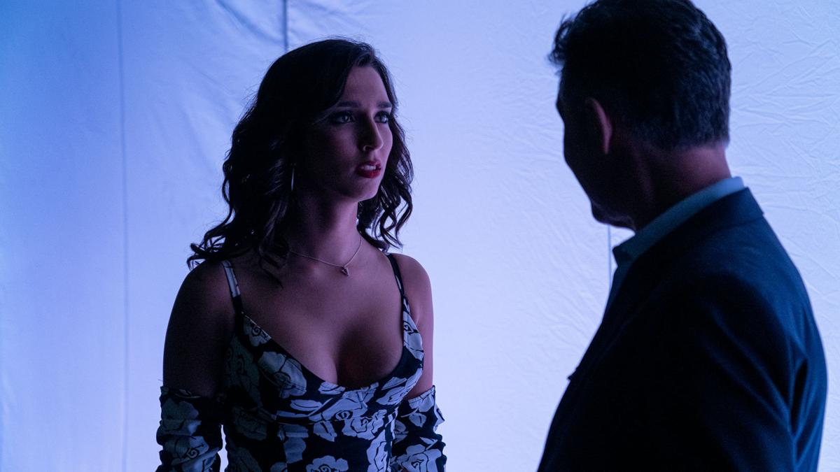 Lola Rodríguez en una escena de 'Veneno', serie de Javier Calvo y Javier Ambrossi para Atresplayer Premium