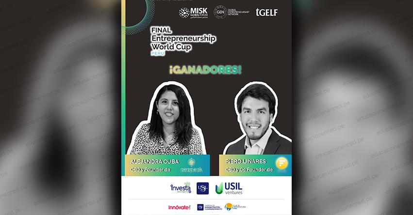 USIL: Dos startups peruanos competirán en semifinal del Entrepreneurship World Cup - EWC 2020