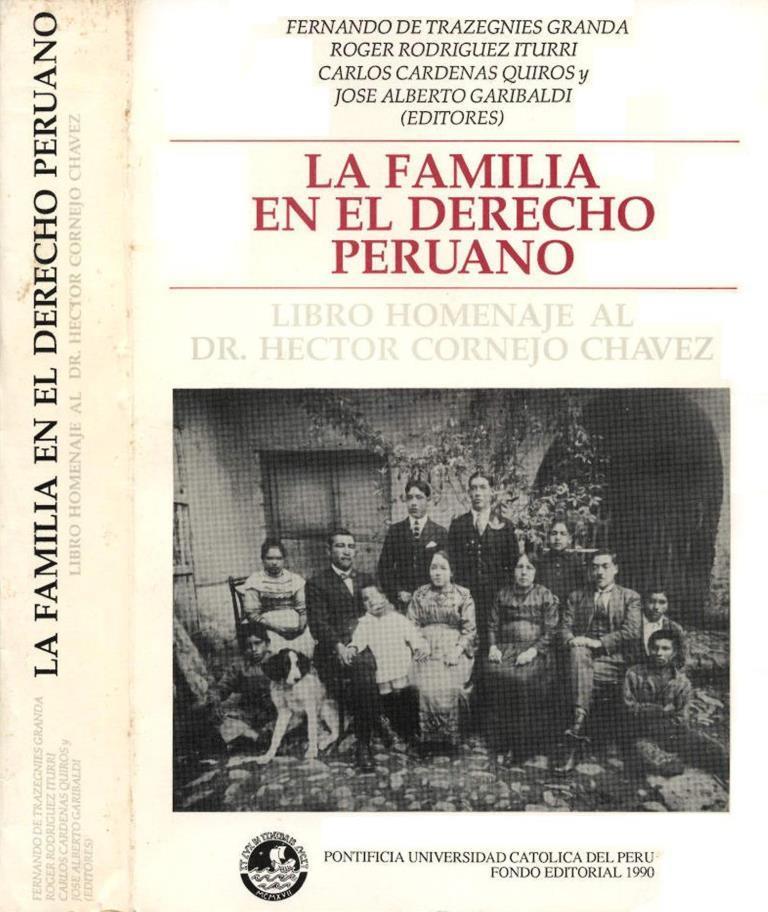 La familia en el derecho peruano