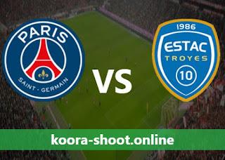 مشاهدة مباراة باريس سان جيرمان وتروا بث مباشر كورة اون لاين بتاريخ 08/08/2021 الدوري الفرنسي