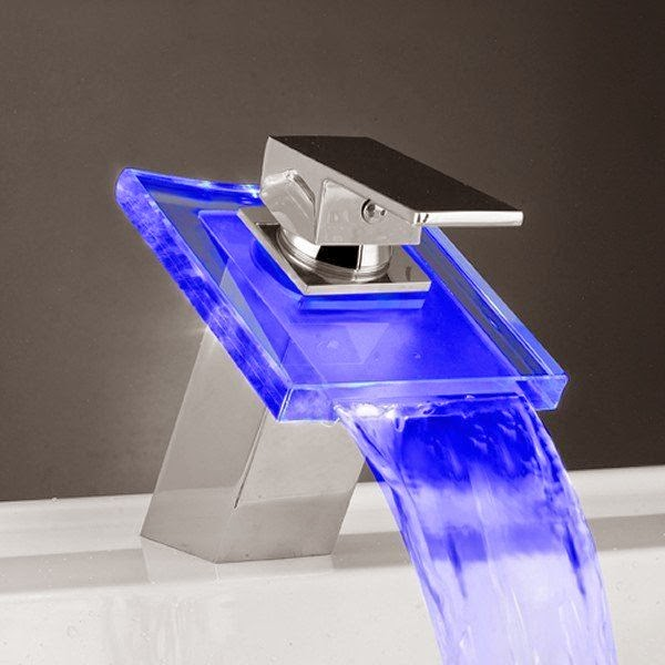 Creative LED Light Water Faucet Tap