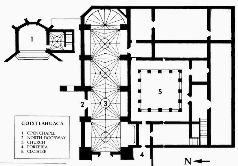 colonialmexico: Coixtlahuaca: The Priory of San Juan Bautista