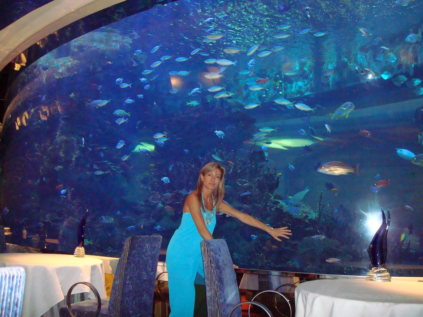Excitement n net underwater restaurant in dubai al mahara for Burj al arab underwater room