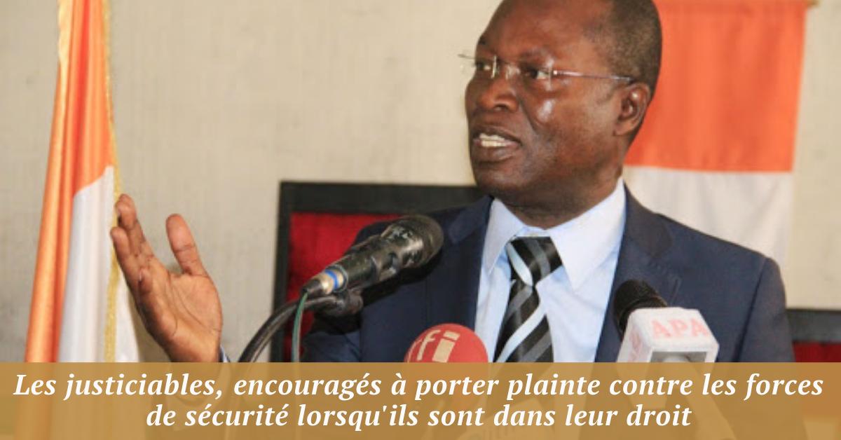 Les justiciables, encouragés à porter plainte contre les forces de sécurité lorsqu'ils sont dans leur droit