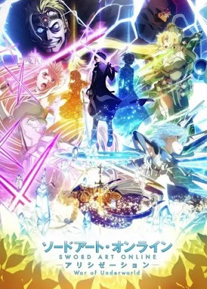 Descargar Sword Art Online: Alicization - War of Underworld 2nd Season (06/??) HD Sub Español Por Mega.