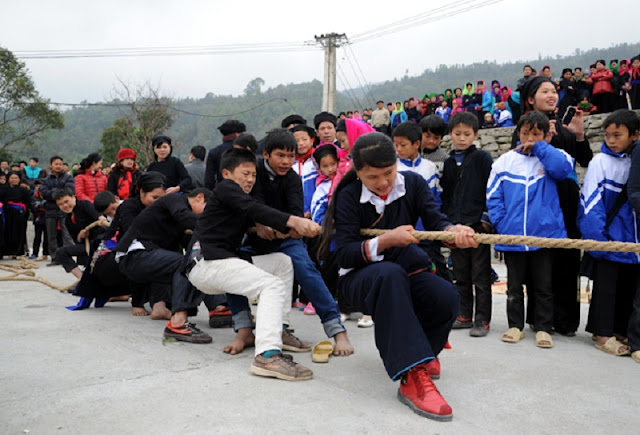 Traditional Khu Cu Te festival of La Chi ethnic group, Ha Giang 7