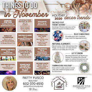 November 2020 Things to do