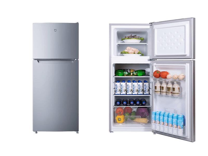 Xiaomi MIJIA 118L small double-door refrigerator now official!
