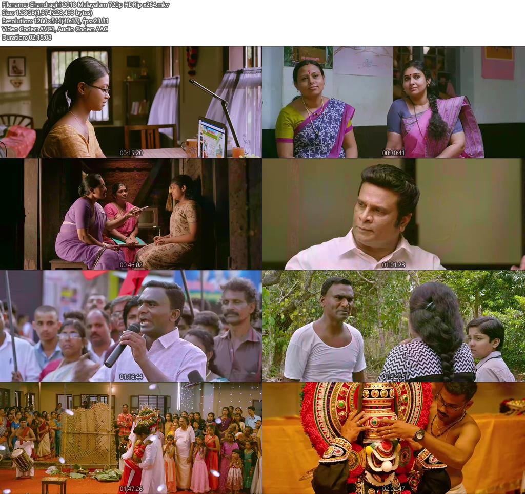 Chandragiri 2018 Malayalam 720p HDRip x264 | 480p 300MB | 100MB HEVC Screenshot