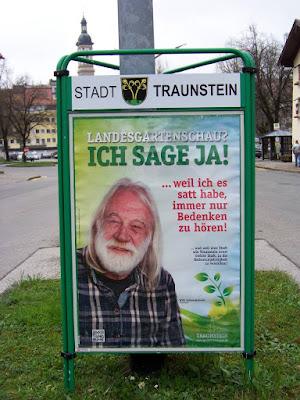 Willi Schwenkmeier zur Landesgartenschau Traunstein
