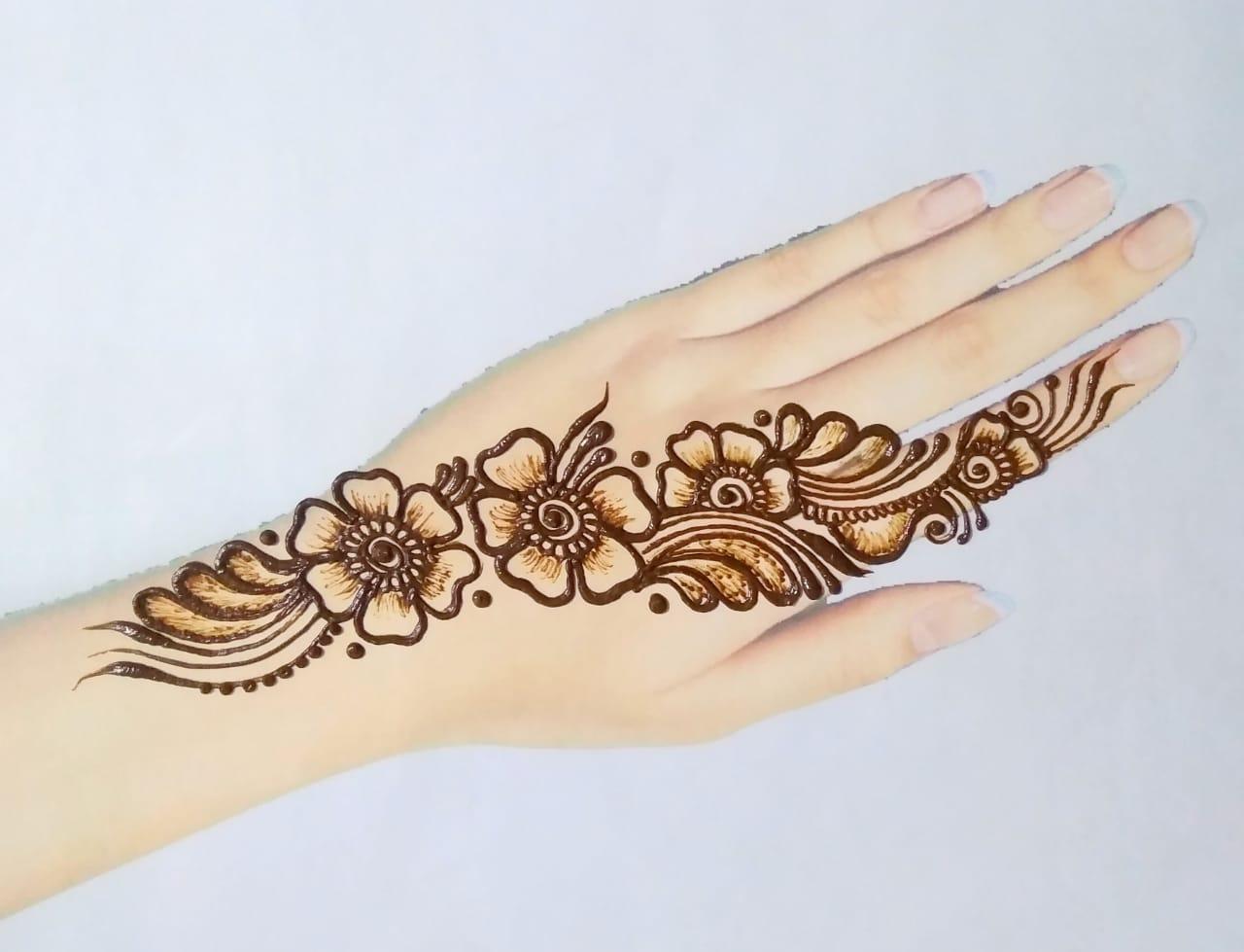 Simple Mehndi Design
