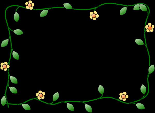 clip art borders spring - photo #26
