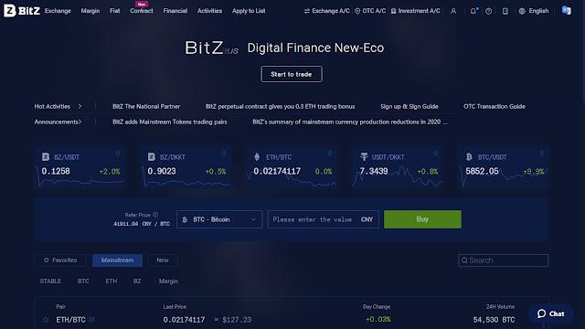 Hướng dẫn trade coin sàn Bit-Z