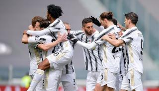 ملخص واهداف مباراة يوفنتوس وجنوي (3-1) الدوري الايطالي