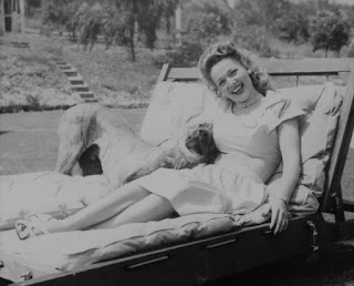 Carole Landis With Dippy
