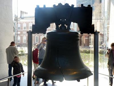 Campana de la Libertad, Filadelfia