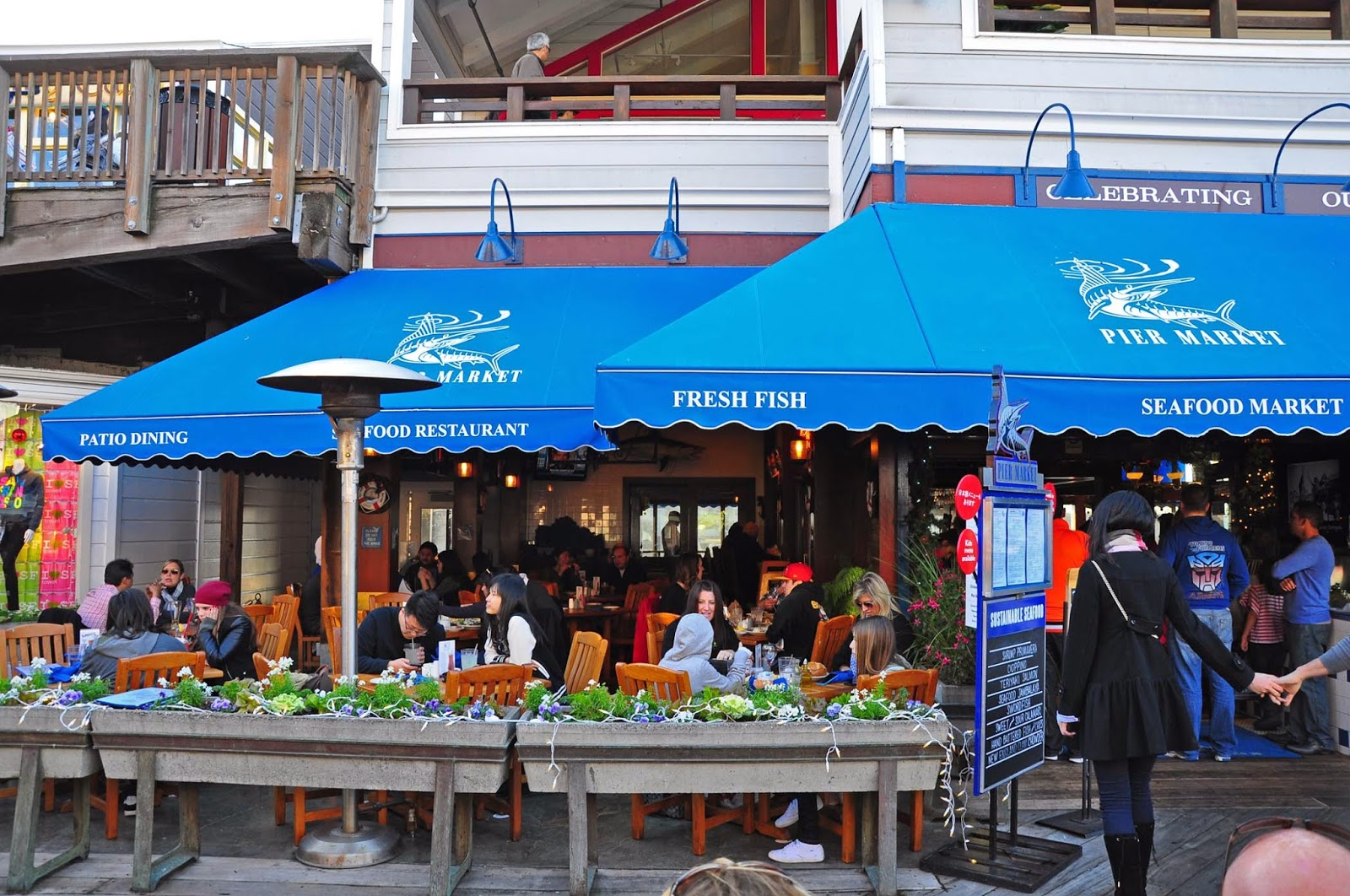 Best Seafood Restaurant California Dining Pier 39