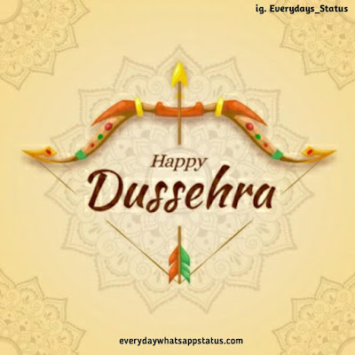 happy dasara image | Everyday Whatsapp Status | Unique 20+ Dusshera Images with Wishes in English