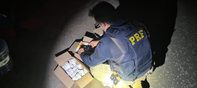 PRF prende homem por tráfico de anabolizantes na BR 304 em Mossoró, RN