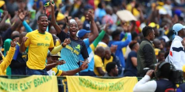 Mamelodi Sundowns supporters