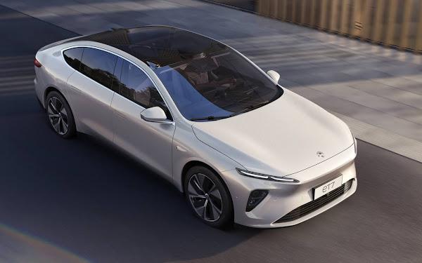 NIO ET7: bateria de estado sólido, + 1000 km de autonomia e condução autônoma