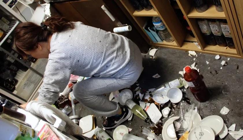 Σεισμός 7,1 Ρίχτερ στην Ιαπωνία: Δεκάδες τραυματισμοί - Συγκλονιστικά βίντεο