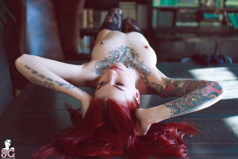 Suicide Girls, nude girls, Tattoo, tits,