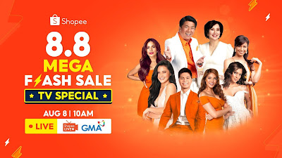 Shopee 8.8 Mega Sale