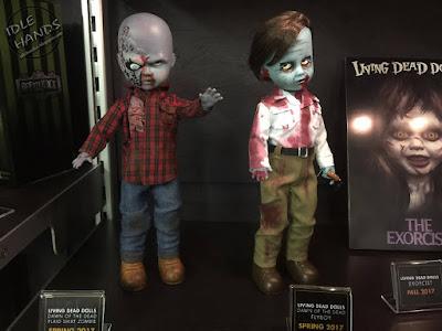 Toy Fair 2017: Mezco's Horror Toys Living Dead Dolls Dawn of the Dead Zombies
